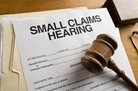 Sonoma County Attorneys and small claims court
